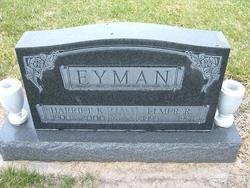 Elmer Roy Eyman