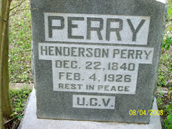 Henderson W Perry