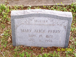 Mary Alice Perry