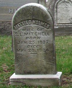 Martha D. <i>Holmes</i> Mitchell