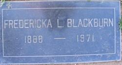 Fredericka Louise Ricka <i>Bedford</i> Blackburn