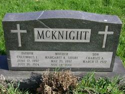 Margeret Kerenhappuch <i>Shore</i> McKnight
