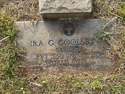 Pvt Ira G. Goolsby, Jr