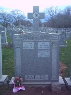 Constantine John Connie Babien