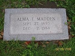 Alma E Madden