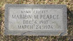Marion M. Pearce
