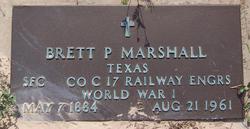 Brett P Marshall