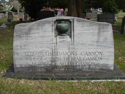Elizabeth <i>Simmons</i> Cannon
