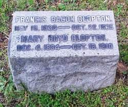 Capt Francis Bacon Clopton, Sr