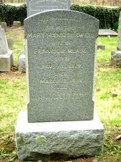 Mary Mann <i>Burwell</i> Meade