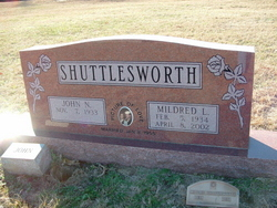 Mildred Laverne <i>Shubert</i> Shuttlesworth