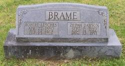 Zelpah <i>Dawson</i> Brame