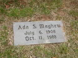 Ada M. <i>Shoemaker</i> Mayhew