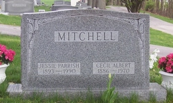 Jessie Florence <i>Parrish</i> Mitchell