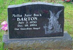 Melba Jane <i>Buck</i> Barton