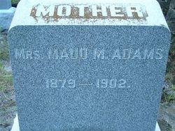 Maude <i>Davis</i> Adams