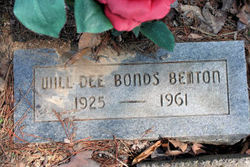 Will Dee <i>Bonds</i> Benton