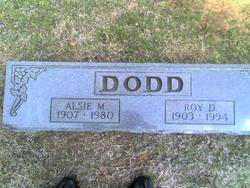 Alsie M <i>Scott</i> Dodd