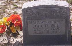 Matilda Matildy <i>Hodges</i> Garrett