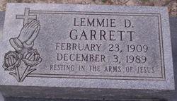 Lemmie D. Garrett