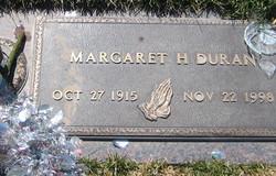 Margaret H. <i>Herrera</i> Duran