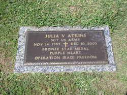 Sgt Julia Velinda Atkins