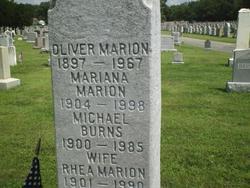 Rhea <i>Marion</i> Burns