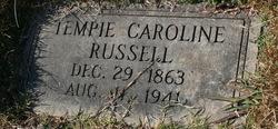 Tempie Caroline Russell
