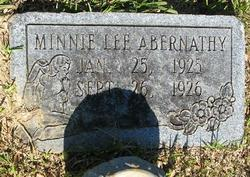 Minnie Lee Abernathy