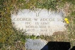 George William Bud Adcox, Sr
