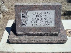 Carol Kay <i>Denny</i> Gardiner