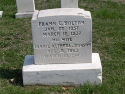 Fannie Alfreda <i>Johnson</i> Bolton
