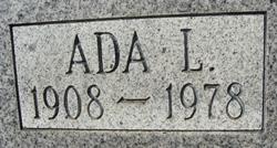 Ada L. Ida Barton