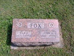 Eva Jane <i>Harney</i> Fox