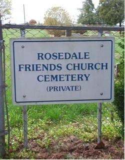 Rosedale Friends Church Cemetery