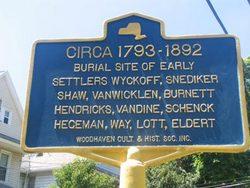 Wyckoff-Snedicker Family Cemetery