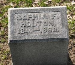 Sophia F Holton