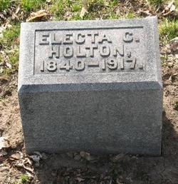 Electa C Holton