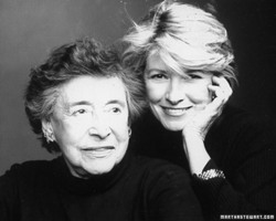 Photo of Martha Stewart & her Mother  Martha Ruszkowski Kostyra