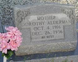Dorothy Mildred <i>Irby</i> Alderman