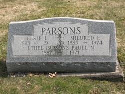 Ethel Maria <i>Parsons</i> Paulin