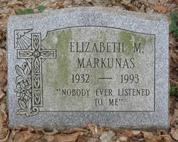Elizabeth M. Markunas