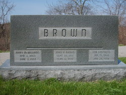 Ida Jane Lide <i>Stephens</i> Brown