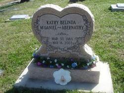 Kathy Belinda <i>McDaniel</i> Abernathy