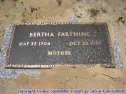 Bertha Farthing