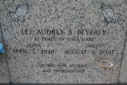 Lee Audrey <i>Savoie</i> Beverly