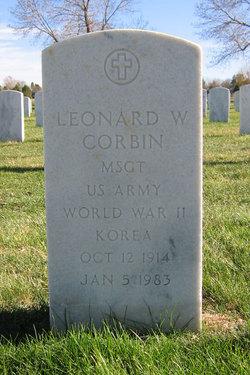 Leonard W Corbin
