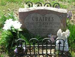 Charlotte Ann <i>Peiffer</i> Chaires