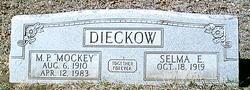 Selma E. <i>Burke</i> Dieckow