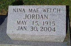 Nina Mae <i>Welch</i> Jordan